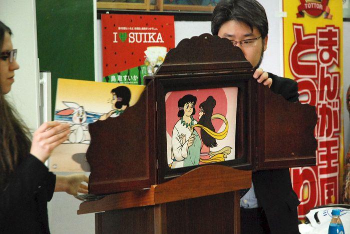 Мастер-класс по манга провел во ВГУЭС сенсей из префектуры Тоттори