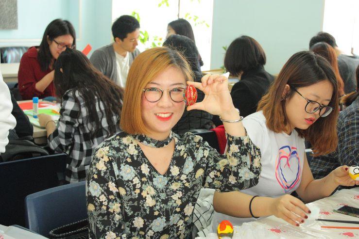 Иностранные студенты встретили Пасху со знанием дела