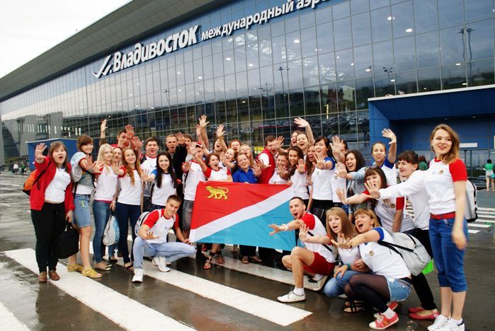 VSUES volunteers set forth to the XXVII World Summer Student Games