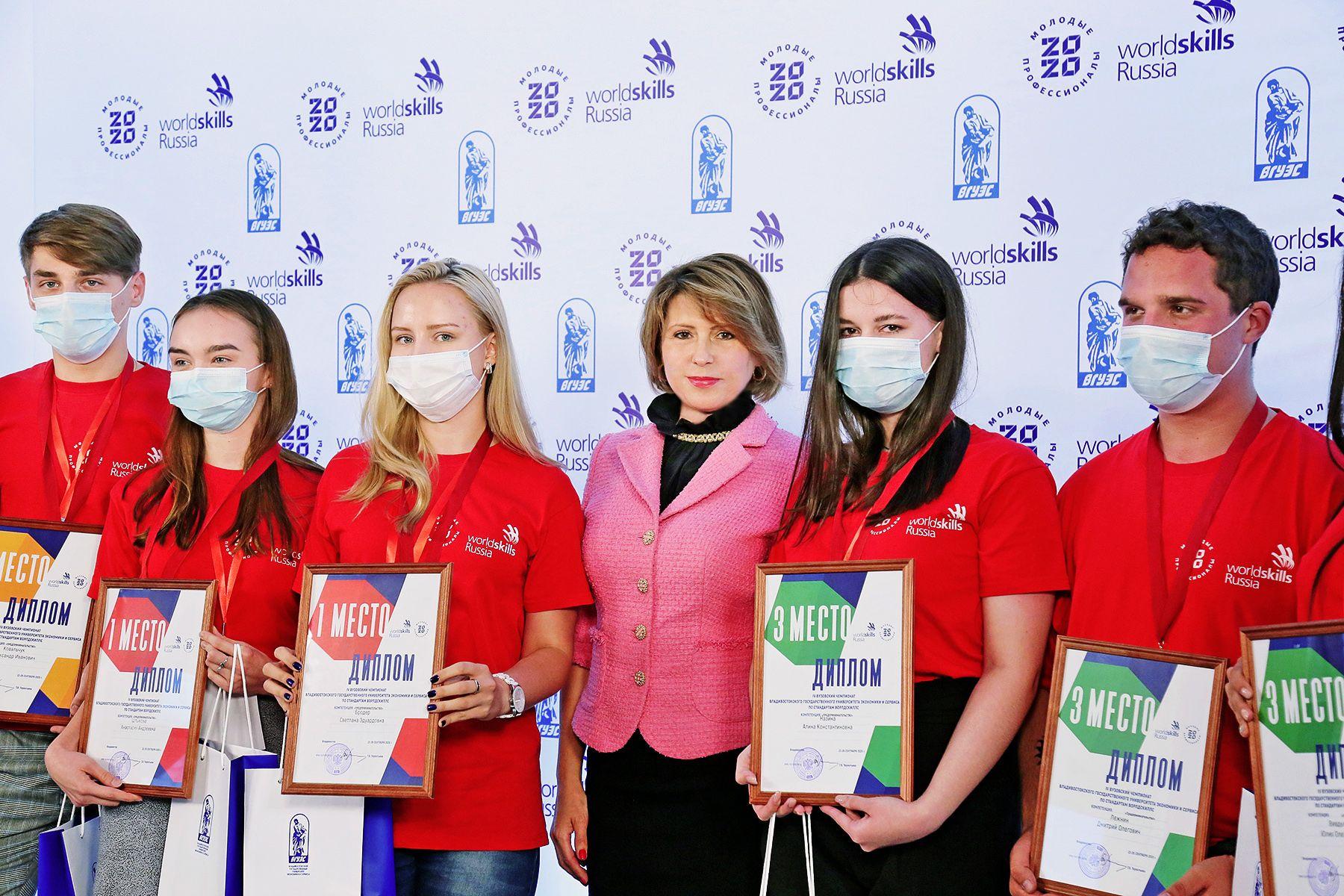 Во ВГУЭС завершился IV вузовский отборочный чемпионат по стандартам WorldSkills: победители отправятся в Москву на Национальный чемпионат