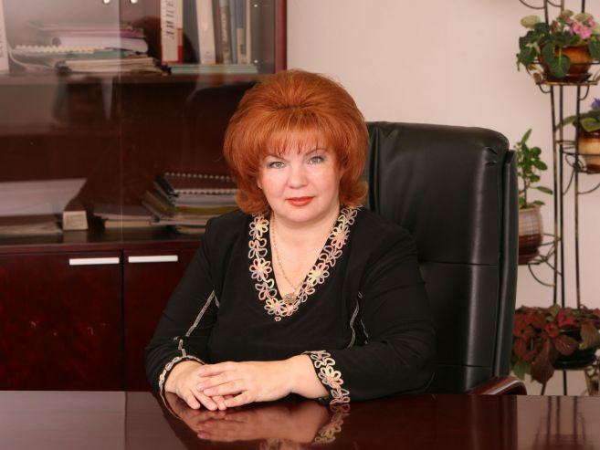 Поздравление директора Альбины Алексеевны Власенко с Днём учителя.