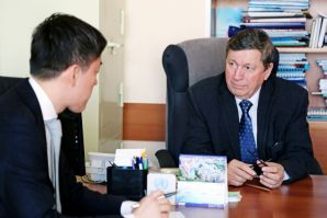 VSUES expert gave evaluation of economic trends to Kyodo News