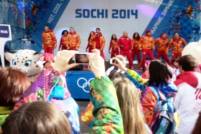 Волонтеры ВГУЭС приветствовали атлетов из 87 стран
