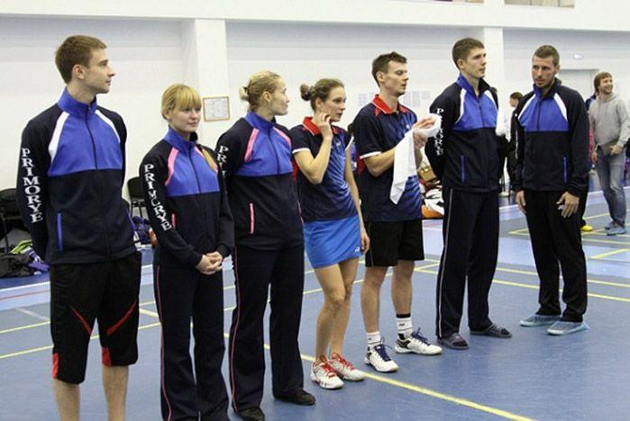 «Приморье-ВГУЭС» на втором месте после первого круга чемпионата России по бадминтону