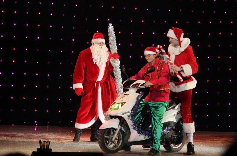 Дед Мороз и Санта