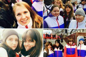 Волонтеры ВГУЭС вместе со всем городом отпраздновали вторую годовщину присоединения Крыма к России!