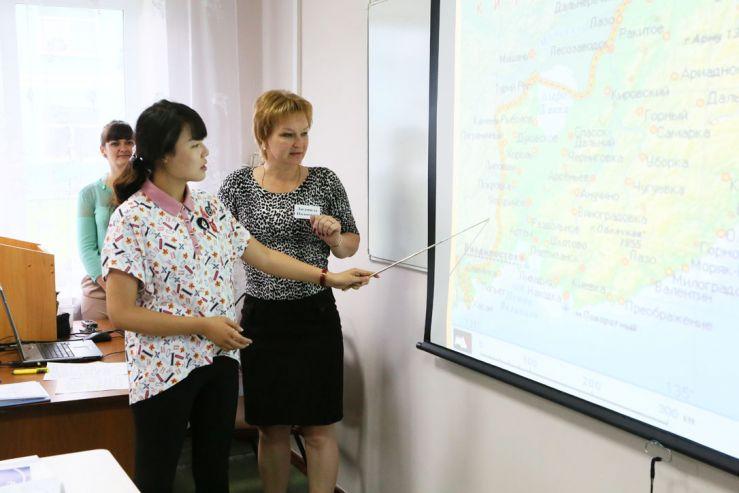 Для прохождения летней языковой практики в филиал ВГУЭС прибыла группа студентов Яньбяньского университета (КНР)