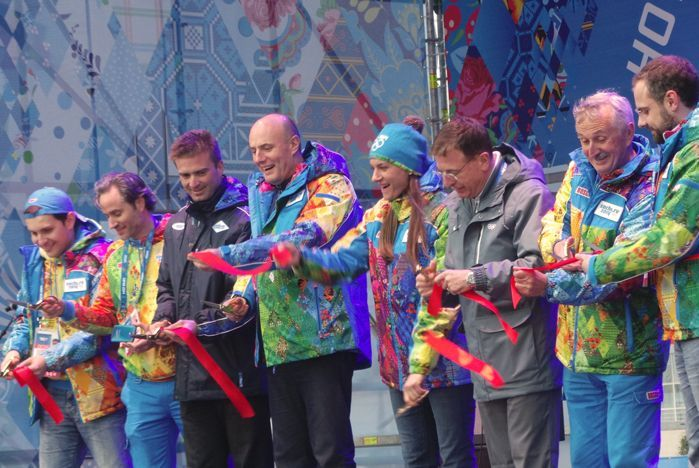 """VSUES volunteers attended opening ceremony of Olympic villages """"Sochi 2014"""""""