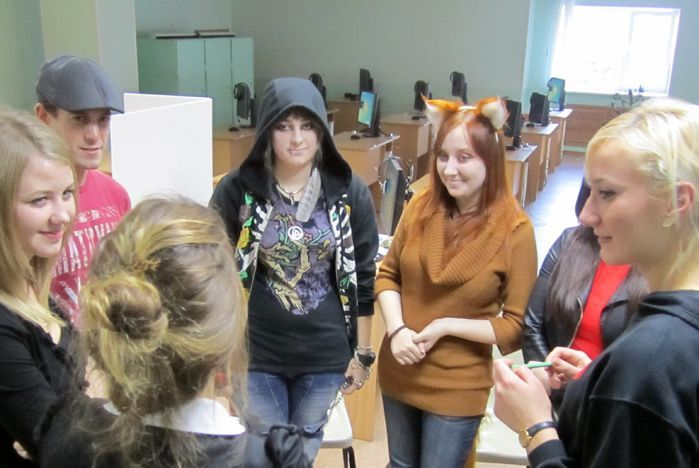 Студенты Института иностранных языков отметили Хэллоуин по американским традициям