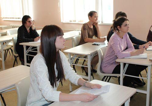 В Школе начинающего педагога состоялось очередное занятие.