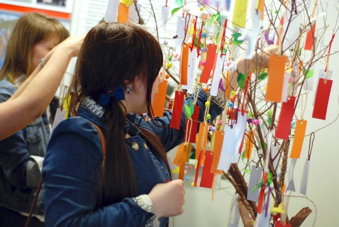 A Japanese wish tree «struck its roots» in the Museum and exhibition complex of VSUES