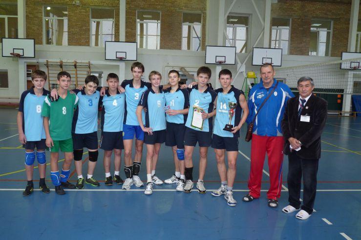 На базе ШИОД прошло Открытое первенство Приморского края по волейболу среди юношеских команд
