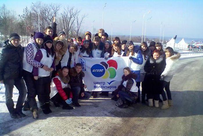 Волонтеры ВГУЭС первыми протестировали новую трассу во Владивостоке