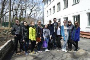 С «Благим делом» волонтеры ВГУЭС посетили интернат для глухонемых и слабослышащих детей!