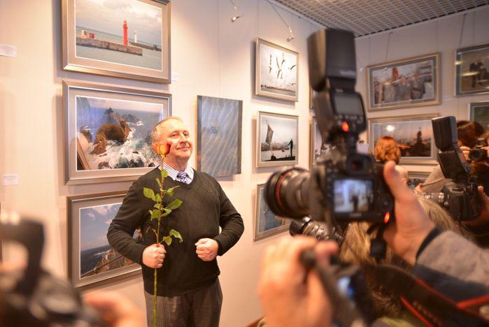 Выставка выдающегося фоторепортера Юрия Мальцева «50!» открылась в музее ВГУЭС