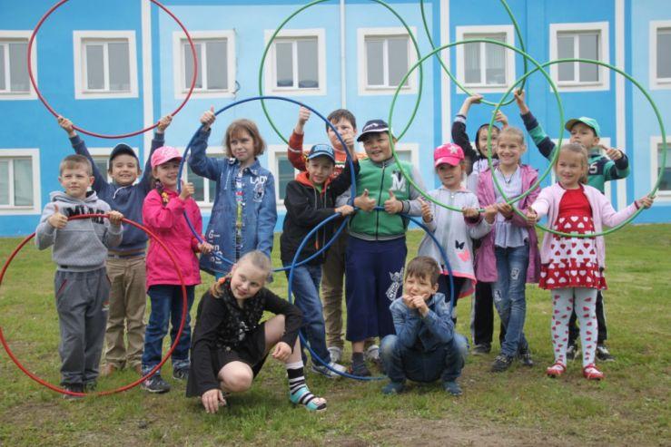 Ребята детского лагеря филиала «ВГУЭС» приняли участие в спортивно-оздоровительном мероприятии «Бодрость духа»