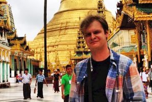 Attaché of the Russian Embassy in Myanmar Vitaly Novikov - graduate of VGUES: