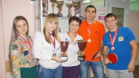 Студент АК Шарапов Олег — Абсолютный чемпион личного первенства в городской спартакиаде по настольному теннису