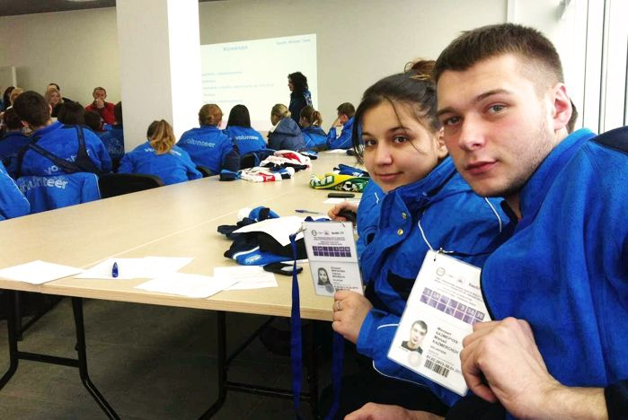 Волонтеры ВГУЭС осваивают спортивные объекты Игр Сочи 2014