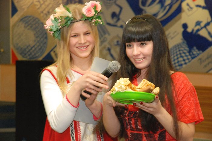 ВГУЭС празднует Масленицу