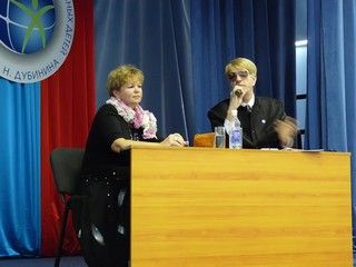 Первый проректор ВГУЭС побывала в гостях у школьного пресс-клуба
