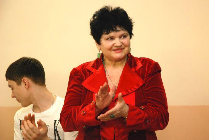 Тамара Боровик - организатор праздника