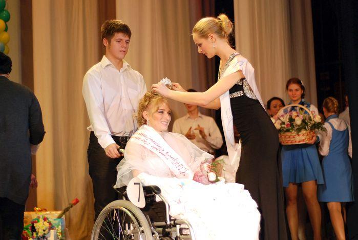 Красота без границ. Стала известна победительница первого конкурса для женщин на инвалидных колясках.