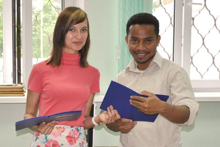 Студенты ВГУЭС из Индонезии: «Первый этап – на ура!»