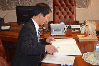 Генеральный консул Японии Ито Нобуаки посетил филиал ФГБОУ ВПО «ВГУЭС» в г. Находке