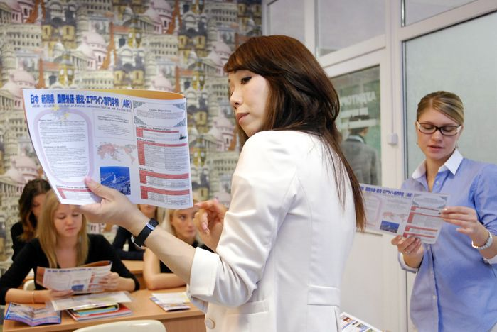 Студенты ВГУЭС повышают свой уровень японского в Ниигате
