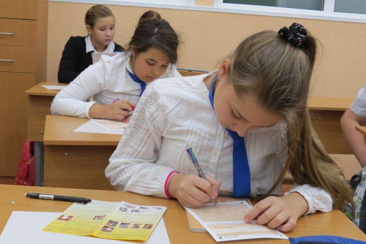 30 января 2014 года 215 учеников нашей школы приняли участие во II Всероссийском игровом конкурсе по литературе «Пегас», посвященном 200-летию со дня рождения М.Ю.Лермонтова.