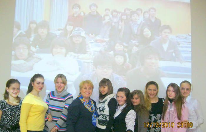Телемост русских и японских школьников прошел во ВГУЭС