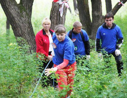 «Богатыри» филиала ВГУЭС приняли участие в городском турслете.