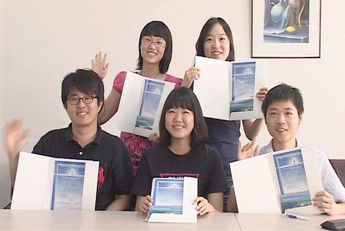 Корейские и китайские студенты получили сертификаты об окончании курса русского языка во ВГУЭС