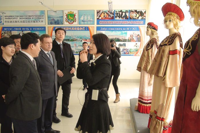 Образовательный павильон ВГУЭС стал самым большим и массовым в КНР