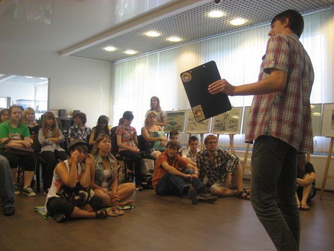 В музее ВГУЭС встретились любители манга и аниме