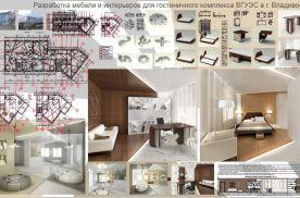 Дружинкина Н. Разработка интерьеров и мебели для гостиничного комплекса