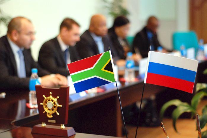 Делегация представителей посольства ЮАР в Российской Федерации посетила ВГУЭС