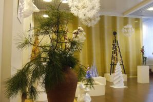 Дизайнерский взгляд на любимый зимний праздник - выставка-конкурс  «ЭКО-ЁЛКА - 2018»