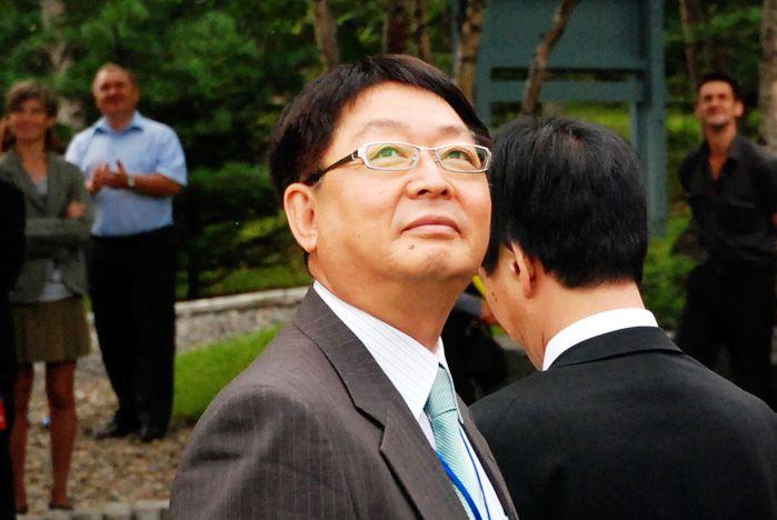 ВГУЭС посетил известный японский мастер по созданию садов