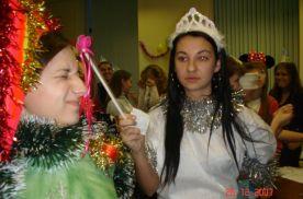 Евгения Корнева загадывает новогоднее желание