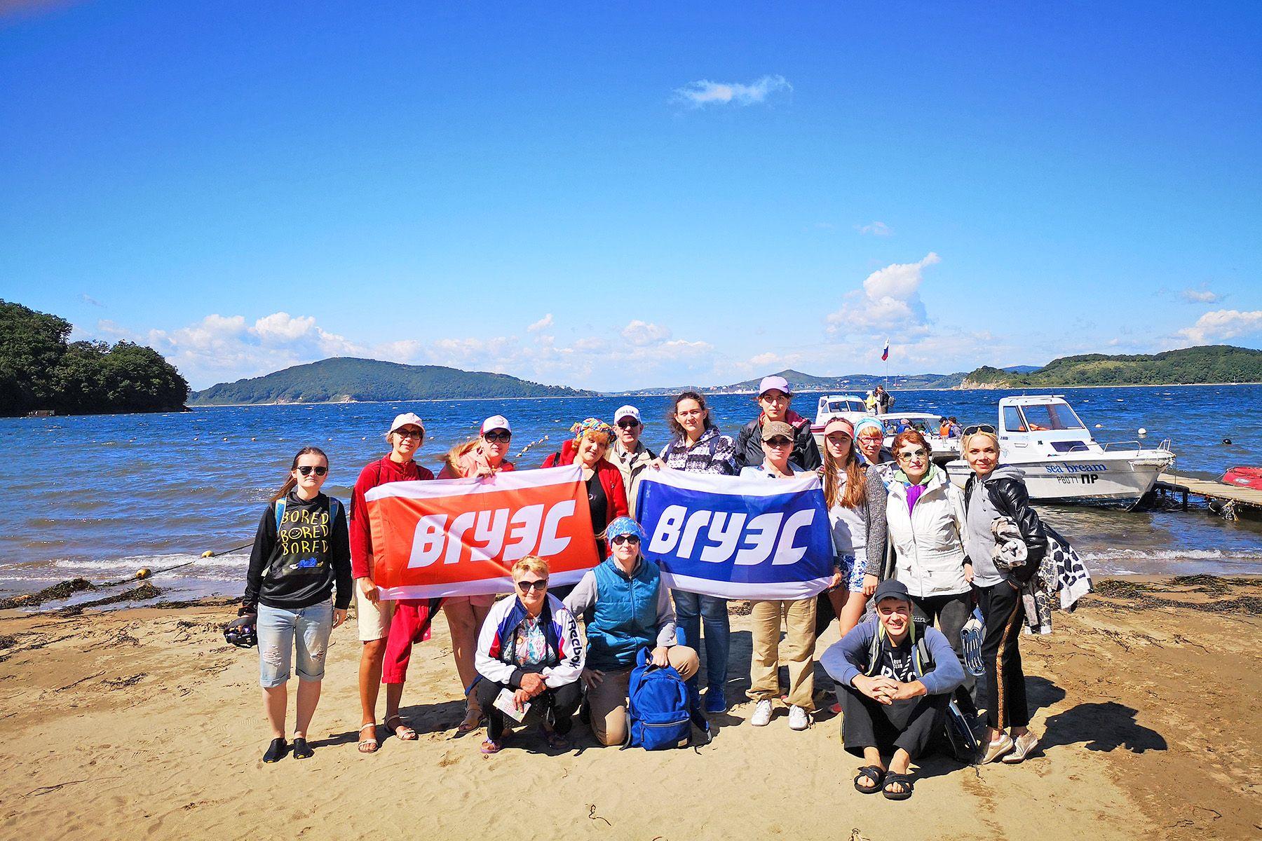 Походы выходного дня: морские путешествия коллектива ВГУЭС