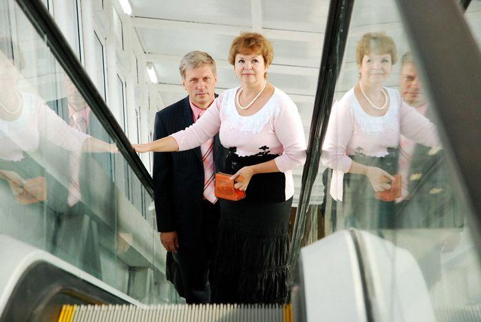 Первый в России университетский эскалатор заработал во ВГУЭС!