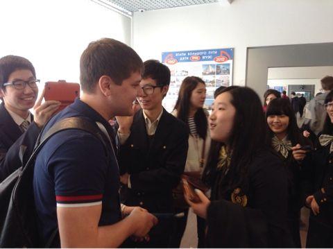 Институт иностранных языков принимает гостей из Кореи