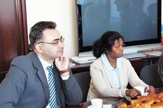 Руководители дипломатических представительств собрались в школе-интернате ВГУЭС для одаренных детей
