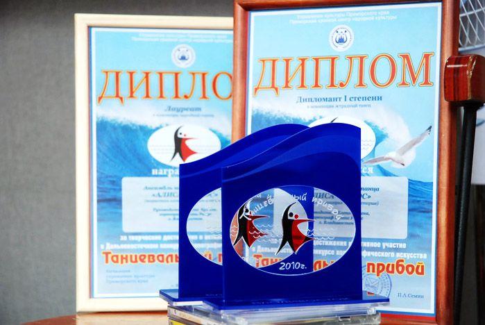 Творческие коллективы ВГУЭС получили награды в конкурсе «Танцевальный прибой»!