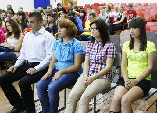 В филиале состоялось собрание студентов проживающих в общежитии.