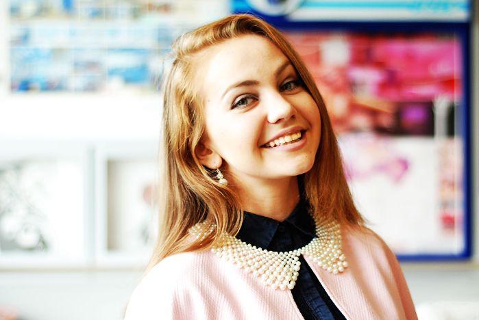 Александра Стефанюк, студентка 1-го курса Института сервиса, туризма и дизайна, профиль «Дизайн костюма»