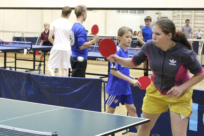 Соревнования по настольному теннису станут ежегодными