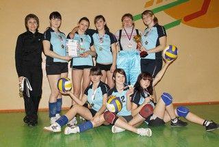 Волейбольная команда КСД ВГУЭС заняла первое место в соревнованиях среди средне-специальных учебных заведений Владивостока